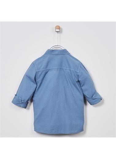 Panço Erkek Çocuk Uzun Kollu Gömlek 2011BK06002 Mavi
